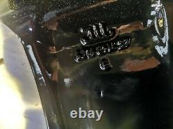 4x GENUINE BLACK PEUGEOT 207 208 307 308 3008 PARTNER 16 ALLOY WHEELS