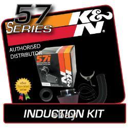 57-0662 K&N AIR INDUCTION KIT fits PEUGEOT 207 1.6 Diesel 2006-2008