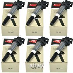 6PCS Delphi Ignition Coil FOR BMW 1 2 3 4 5 6 7 MINI CITROEN PEUGEOT 0221504464