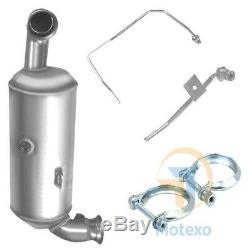 BM11013H Exhaust Diesel Particulate Filter Cat&DPF+ Fitting Kit + Pressure Pipes
