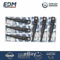 BOSCH Ignition Coils for BMW 1 3 5 6 7 X1 X3 X5 X6 Z4 Mini Citoren Peugeot 6 PCS