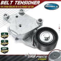 Belt Tensioner for Citroen Berlingo B9 C4 C5 Peugeot 207 308 Partner 1.4 1.6 HDi
