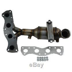 Catalytic Converter Manifold for Peugeot 207 308 Citroen C3 C4 Mini R55 R56 R57