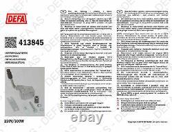 Engine Heater KIT 230V DEFA 413845 for CITROEN PEUGEOT MINI 1.4L 1.6T 2009-2018