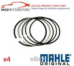 Engine Piston Ring Set Mahle 040 06 N0 4pcs G Std New Oe Replacement