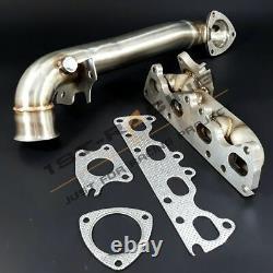 Exhaust Manifold+Downpipe For Mini Cooper S R56/Citroën DS3/Peugeot 207 RCZ 1.6T