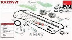 FAI Timing Chain Kit TCK129VVT BRAND NEW GENUINE 5 YEAR WARRANTY