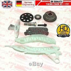 For Ep6dt Ep6cdt N14b16 Citroen Mini Peugeot 1.6 Timing Chain Kit Vvt Hub Gear