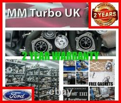 Ford Focus 1.6 TDCI Turbocharger C-max Mondeo 753420 DV6TED4 Turbo + Gaskets. 01