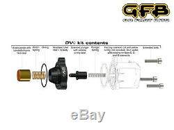 GFB DV+ Diverter Dump Valve Mini Cooper S R56 R57 JCW / Peugeot 207 208 GTI/DS3