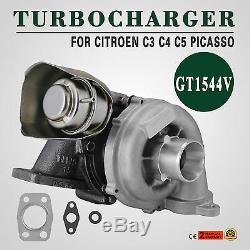 HQ For CITROEN TURBO TURBOCHARGER C3 C4 C5 PICASSO Peugeot 1.6L 110ps kit Good