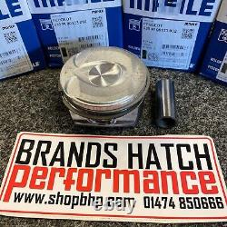Mini 1.6 Cooper S JCW R56 N14 / EP6DT 77.5mm +0.5 Mahle Pistons, Rings & Pins X4