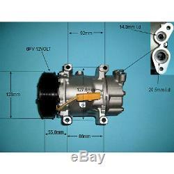 New Air Con Compressor/pump Peugeot 206/307/1007/bipper/partner 1.2 1.4 1.6 2.0