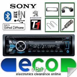 Peugeot 206 Sony CD MP3 USB Bluetooth Handsfree Ipod Iphone Radio Stereo Kit