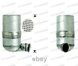 Peugeot 307 1.6 Hdi DPF Particulate Soot Filter 90 Dv6Ted4 4/2004 12/2009