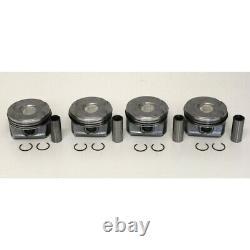 Set of 4 Pistons 0.50mm Oversize for Peugeot 1.6 16v THP EP6DT