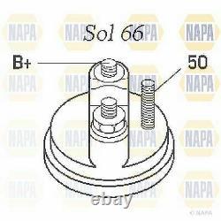 Starter Motor fits MINI COOPER R56 1.6D 06 to 10 NAPA 12417802945 12417803514