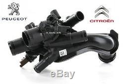 Thermostat Housing Citroen C4 Mini R56 Peugeot 207 308 3008 1.6 16V Genuine HTP