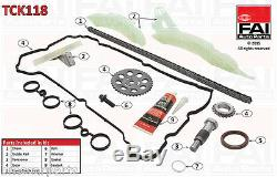 Timing Chain Kit For Citroën C4 I (lc) 1.6 Thp 140 5ft (ep6dt) 07/08-07/11
