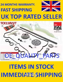 Timing Chain Kit Set Sprockets TCK118VVT FAI for Citroen Mini Peugeot