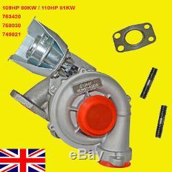 Turbocharger Ford FOCUS PEUGEOT 206 207 CITROEN C3 110PS 109HP 80KW 1.6 GT1544V
