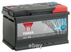 Yuasa YBX7100 Start Stop Battery YUASA 12V 65AH 650A for Peugeot 508